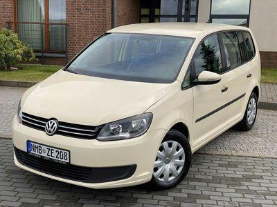 używany VW Touran II 2.0TDI 140KM DSG 7 Foteli Okazja !!!, Kościerzyna