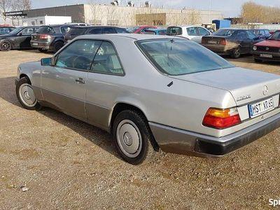 używany Mercedes 230 Coupe W124daimler-benz klasyk 87 rok !