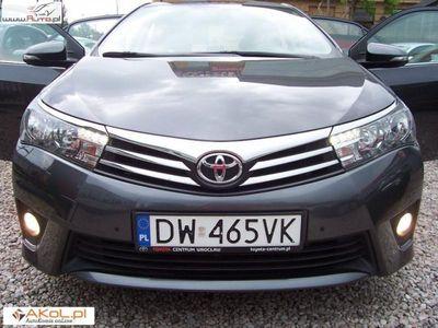 używany Toyota Corolla 1.6dm3 132KM 2015r. 75 000km 1,6 benz. Premium/ kamera/ SALON PL.