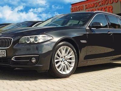 używany BMW 535 SERIA 5 dA 313 xDrive Luxury Fotele Sport*F1*DVD*skóra, Zabrze