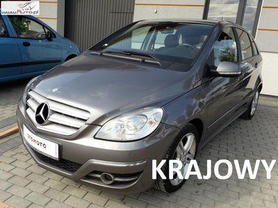 used Mercedes B180 2dm3 110KM 2010r. 103 000km salon polska jeden właściciel oryginalny przebieg raty gwarancja