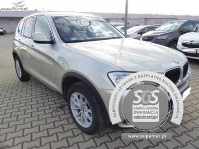 brugt BMW X3 X3 2dm3 184KM 2011r. 105 867kmXDRIVE 20D AUTOMAT, FV 23%, Gwarancja!!