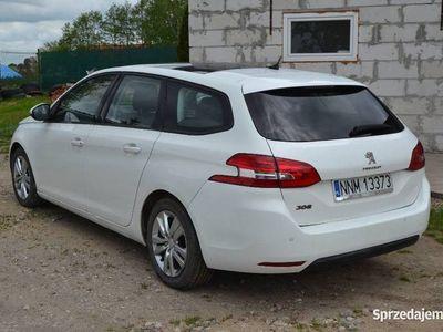 używany Peugeot 308 SW II T9 2014 1.6 Hdi 92 KM