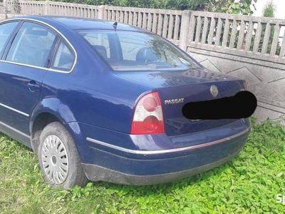 używany VW Passat 1.9 TDI uszkodzona skrzynia biegów
