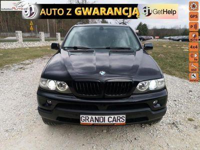 używany BMW 501 X5 3dm3 218KM 2005r.112km 3,0d 218KM Skóra Navi Xenon PDC Gwarancja Przebiegu