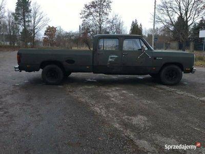 używany Dodge Ram d350 crew cab us army