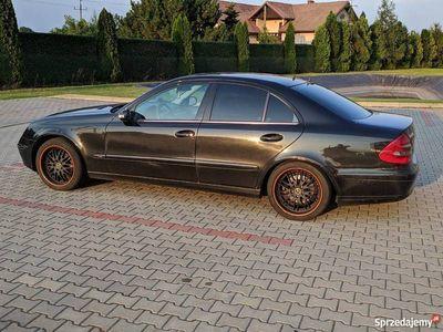 używany Mercedes E220 W211możliwa zamiana za SUV