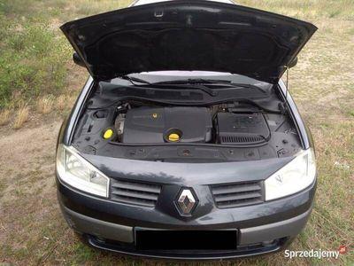 używany Renault Mégane II sedan 1,9 dci 120 km 2004r, LUX dynamique