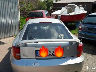używany Toyota Celica 1.8 benzyna+ gaz 2002r,zarejstrowana