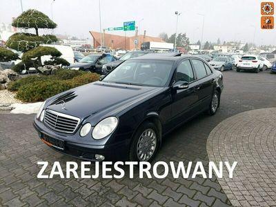 używany Mercedes E270 stan bdb, zadbany,automat,klimatronic, 2.7cdi/177KM W211 (2002-2009)
