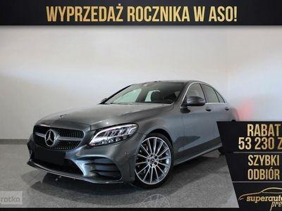 używany Mercedes 200 Klasa C W205 1.54MATIC (184KM) | AMG + Parktronic + Multibeam LED | Wyprzeda, Chorzów