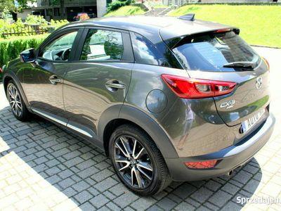 używany Mazda CX-3 2.0 Benzyna 4x4 Head-Up Navi Skóra Szyberdach