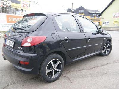 używany Peugeot 206+ 1.1dm3 60KM 2010r. 64 983km Plus 1.1 Benzyna 60 KM Salon Polska Klima Alu Kredyt Bez BIK i KRD