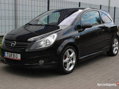 używany Opel Corsa GSI 1.6Turbo Bezwypadkowa. Navigacja Multimedia
