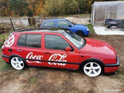 używany VW Golf III gleba German style coca cola