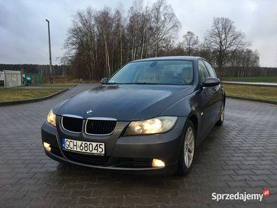 używany BMW 318 E90 D, 2007, zarejestrowany, jasne skóry
