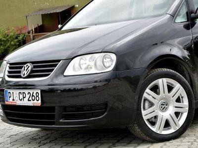 używany VW Touran I 1.6 Trendline 3 Msc G W A R A N C J A Rej 256 zł