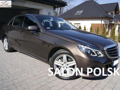 używany Mercedes E220 2.2dm 170KM 2014r. 46 522km