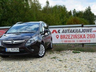 używany Opel Zafira 2dm 170KM 2017r. 190 000km