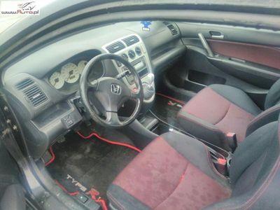 używany Honda Civic 1.6dm3 110KM 2005r. 206 670km VII ABS ręczna klima.