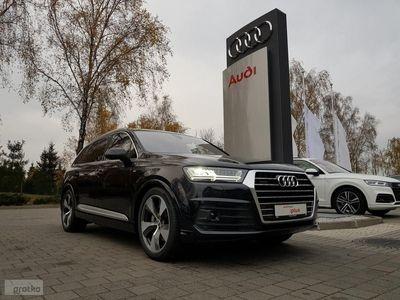 używany Audi Q7 II 3,0 TDI, 272 KM, I WŁ, Navi, Led Matrix, Skóra, S tronic, ASO,FV 23%