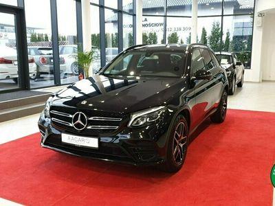 używany Mercedes GLC220 Black Edition, salon PL, I wł, gwarancja, dostawa w cenie