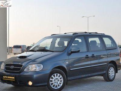 używany Kia Carnival 2.9dm3 136KM 2002r. 143 778km ABS ręczna klima.