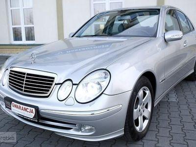 brugt Mercedes 320 Klasa E W211320CDI/Półskóry/Xenon/Tempomat/AVANTGARDE/Bezwyp/Zarejestr/GWARA