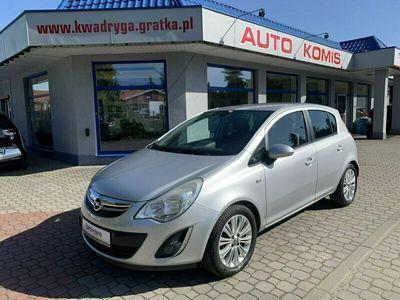 używany Opel Corsa D 100KM Cosmo, Duże radio, Alumy, Salon Polska ,Gwarancja !