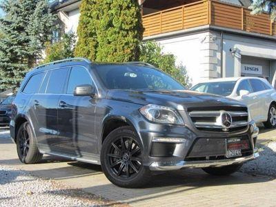 używany Mercedes GL350 3dm 258KM 2016r. 75 000km