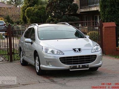 używany Peugeot 207 407 407 SW 1,6 HDITYS KM PO LIFTINGU, KOLOR NAVI,, Orzesze