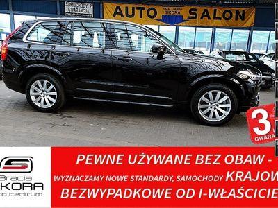 używany Volvo XC90 3 Lata GWARANCJA 1WŁ Kraj Bezwypadkowy T6 320KM 4x4 Bowers&Wilki FV23%