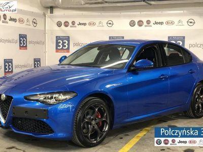 used Alfa Romeo Giulia Veloce 2.0 280 KM | Niebieski MISANO / Czarna skóra | Carplay/Androi