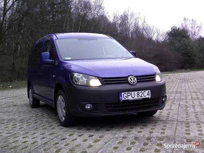 używany VW Caddy Maxi KO Trend 4Motion 7 osób 4x4 klimatyzac