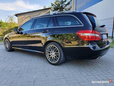 używany Mercedes E350 Matic BlueEff 231Ps Navi Śląsk 2010 ASO