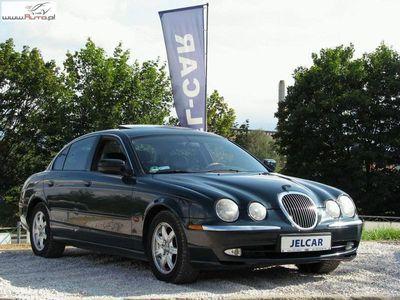 używany Jaguar S-Type I 3.0 V6 238KM Skórzana tapicerka Szyberdach