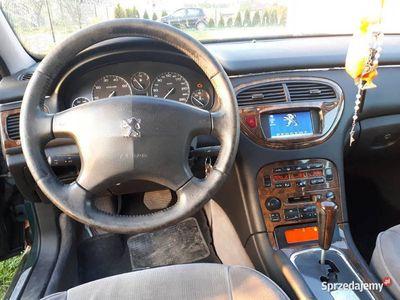używany Peugeot 607 2.2 LPG 12 lat w jednych rękach stan bdb