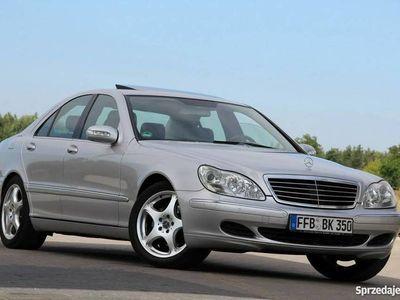 używany Mercedes S350 3.8dm 245KM 2004r. 141 766km