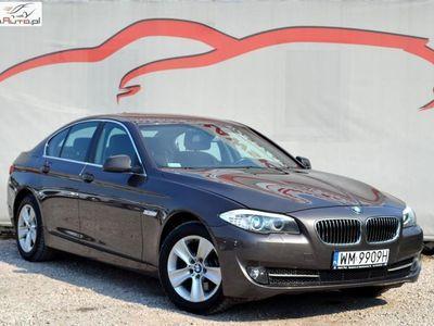 używany BMW 520 2dm3 163KM 2013r. 141 000km Bardzo zadbany / Niski przebieg / Faktura VAT 23%