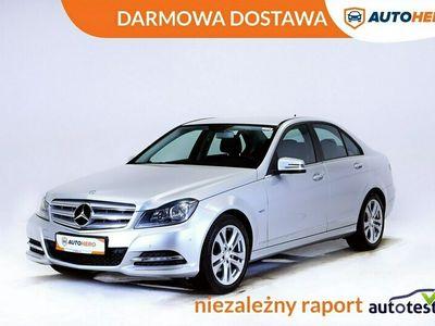 używany Mercedes C180 DARMOWA DOSTAWA, Navi, Klima auto, Pół skóra, Grzane fotele, PDC W204 (2007-2014)