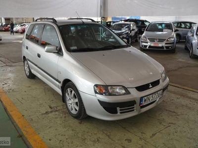 używany Mitsubishi Space Star I I (1998-2005) 1.6 benzyna, historia serwisowa, klimatyzacja, Warszawa