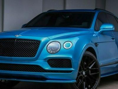 używany Bentley Bentayga Bentayga2020 BLUE 12 CYLINDER BENZ. 608KM 10687KM