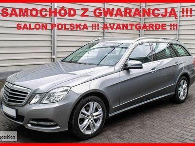 brugt Mercedes 220 Klasa E W212AVANTGARDE + Automat + Salon PL + Serwis MERCEDES-a !!!