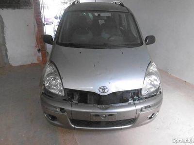 używany Toyota Yaris Verso 1,3 2003 lift klima sprowadzony oplacony
