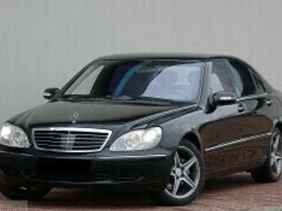 używany Mercedes S400 Klasa S W220 400 Dowóz w cenie autaLong Radar Skóra Roleta
