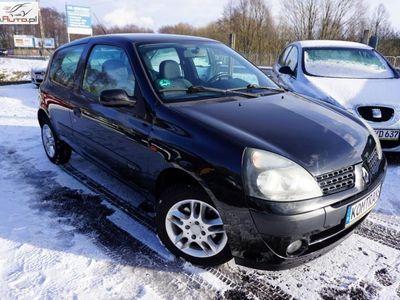 używany Renault Clio 1.2dm3 75KM 2002r. 183 680km 1.2 75 KM klimatyzacja, fajny stan
