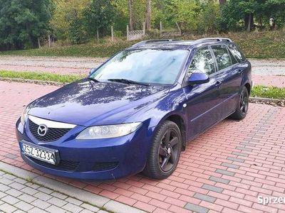 używany Mazda 6 Kombi 2002r. 2.0 147km LPG HAK