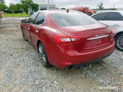 używany Maserati Ghibli 3dm 350KM 2018r. 16 604km