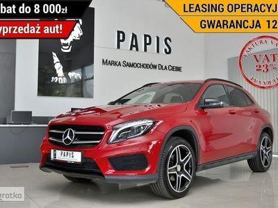 używany Mercedes GLA200 KlasaVAT23% SalonPL AMG Xenon Nawigacja Klimatyzacja Tempomat PAPIS
