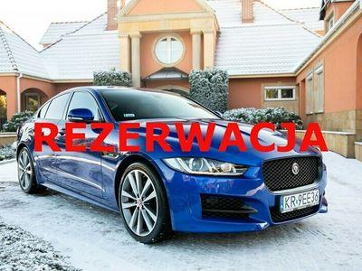 używany Jaguar XE 200 KM, R-Sport. Salon PL. Gwarancja ASO do 03.2021. Cyfrowe zegary.
